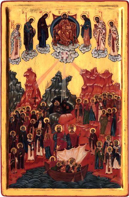Icône de tous les Saints d'Helvétie